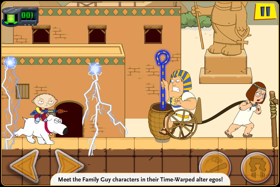 Family Guy Time Warped Lite screenshot 4